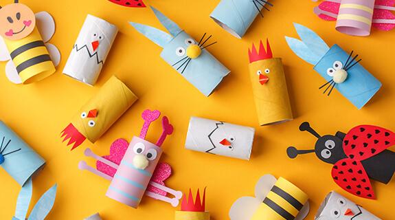 Risanje in ustvarjanje z otroki