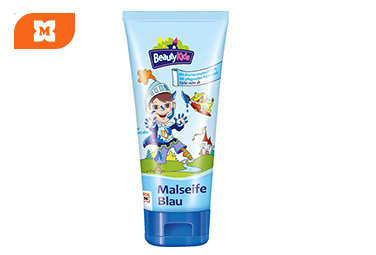 Beauty Kids Malseife blau