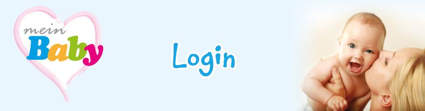 meinBaby Mitglieder Login Bereich