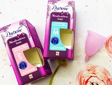 Menstruationstassen Gewinnspiel
