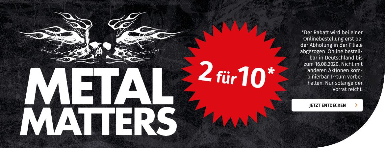 Metal Matters - 2 für 10€