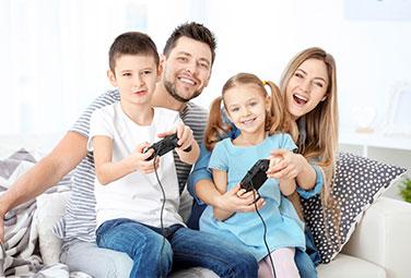 Games für die ganze Familie