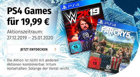 PS4 Games für 19,99 €