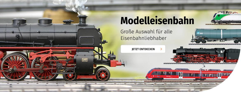 Große Auswahl für Eisenbahnliebhaber