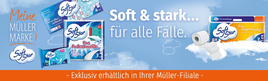 Softstar - Qualität für Haushalt und Hygiene