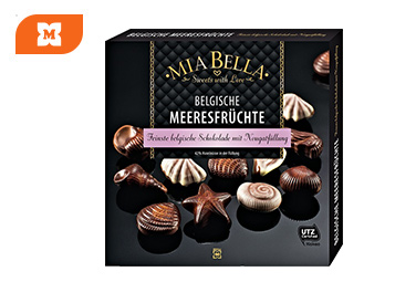MIA BELLA Bombones de chocolate belga