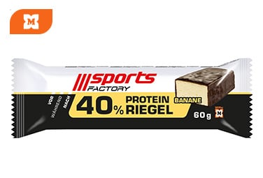 Sports Factory Proteinriegel Banane
