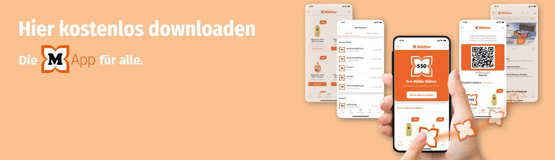 Die Müller App mit Treueprogramm
