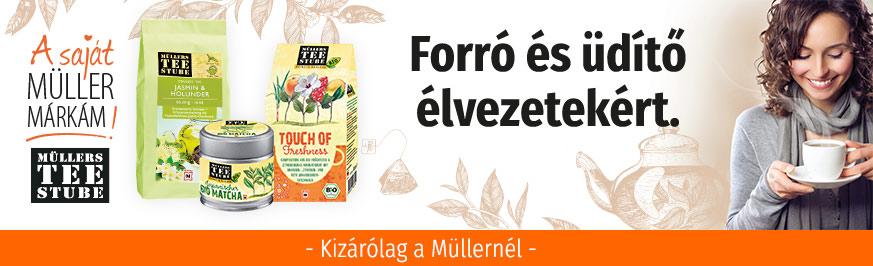 Müller Teaház - Forró és üdítő élvezetekért