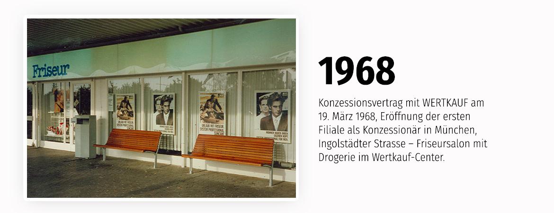 Eröffnung der ersten Filiale als Konzessionär in München