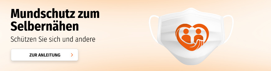 Mundschutz zum Selbernähen