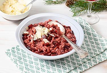 Glühwein-Risotto