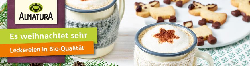 Weihnachtliche Rezepte von Alnatura