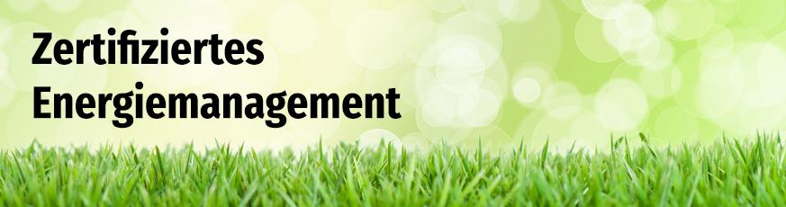 Energiemanagement nach DIN EN ISO 50001