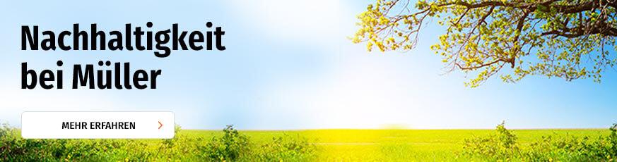 Nachhaltigkeit -> Jetzt entdecken