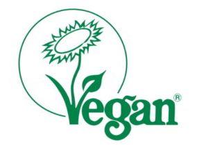 Siegel von Vegan Society