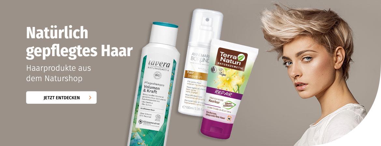 Haarpflege aus dem Naturshop