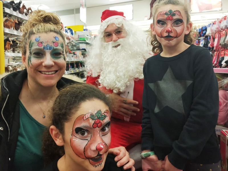 Navidad Papá Noel en Campos