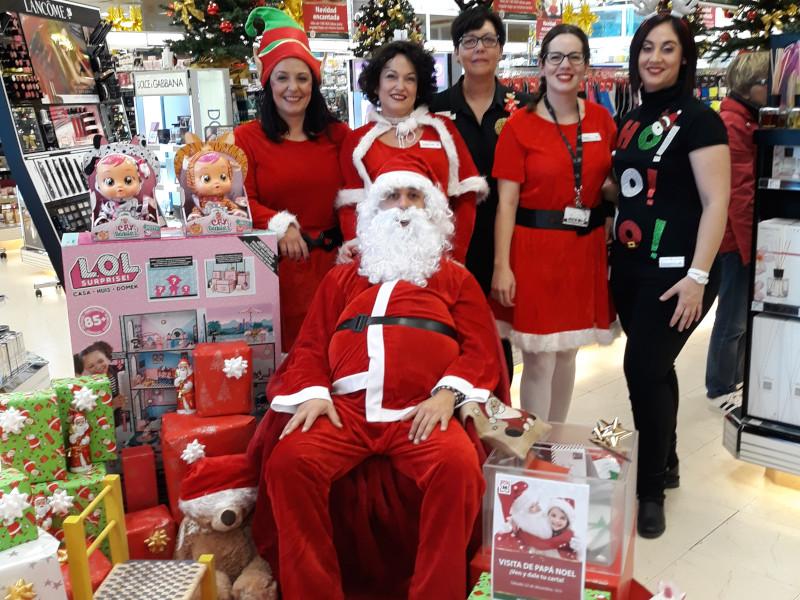 Navidad Papá Noel en Son Servera