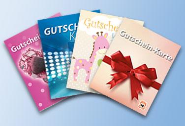 Geschenkgutscheine bei Müller