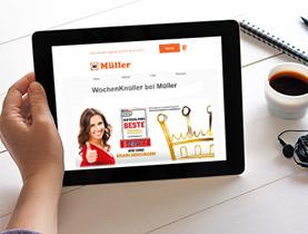 Müller Newsletter - über alles informiert
