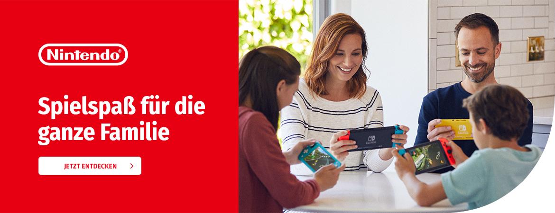 Spielspaß für die ganze Familie mit Nintendo