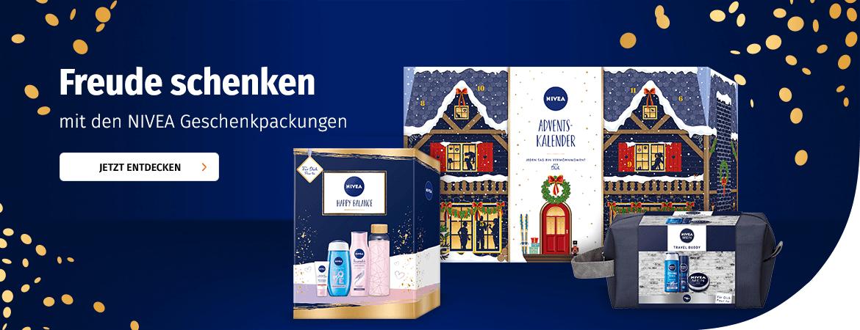 Geschenkpackungen von Nivea bei Müller