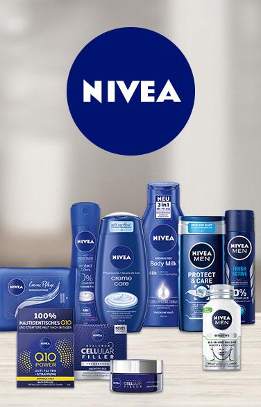 20% auf alle Artikel der Marke NIVEA