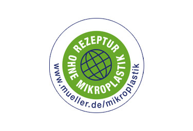 Unser Mikroplastik-frei Logo