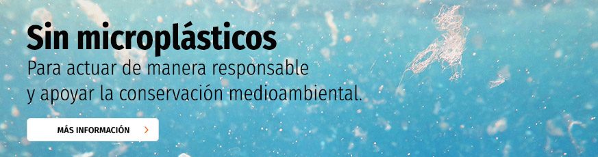 Sin microplásticos