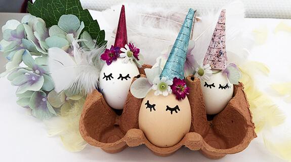 Einhorn-Eier - Endergebnis