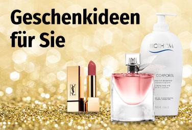 Geschenkideen aus der Parfümerie für Sie
