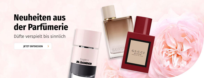 Neuheiten aus der Parfümerie