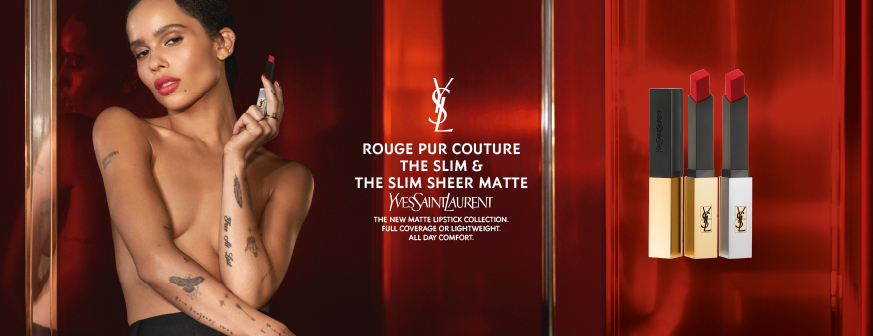 YSL Yves Saint Laurent Rouge Pur Couture The Slim Sheer Matte