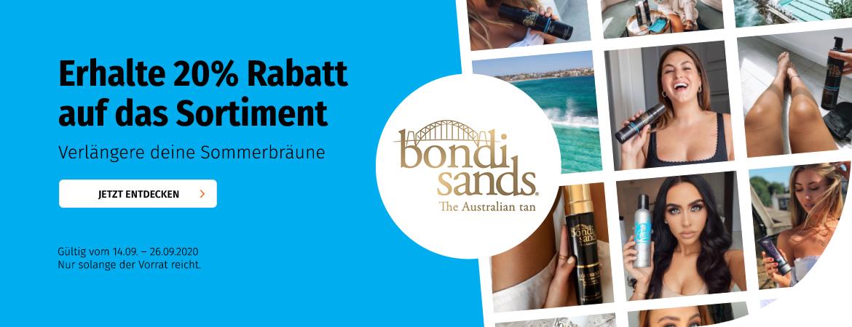 20% auf Bondi Sands