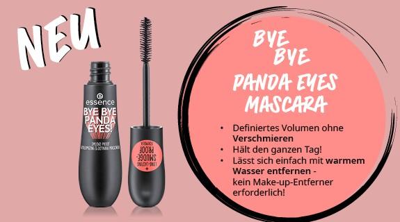 essence bye bye Panda Eyes Mascara