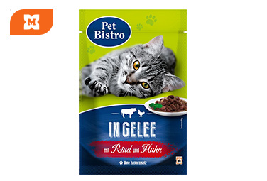 Pet Bistro govedo i piletina u želeu