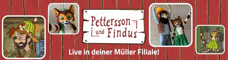 Pettersson und Findus auf Tour