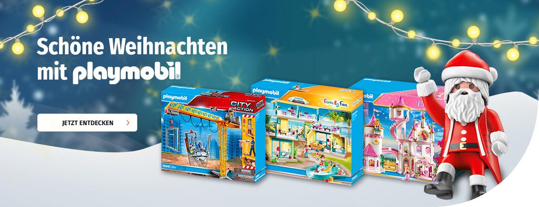 Schöne Weihnachten mit playmobil