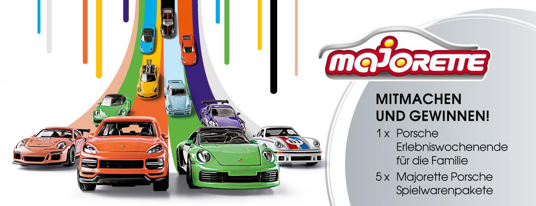 Porsche Majorette Gewinnspiel