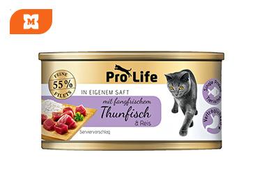 Pro Life Gatos Paté con atún y arroz