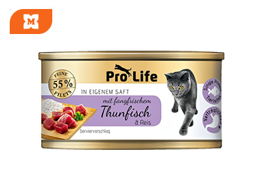 Pro Life Macskák - tonhal & rizs