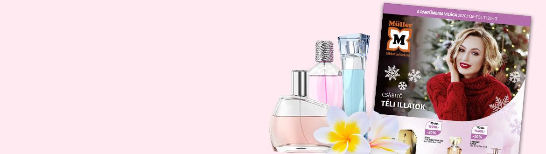 Aktuális parfüméria prospektusunk
