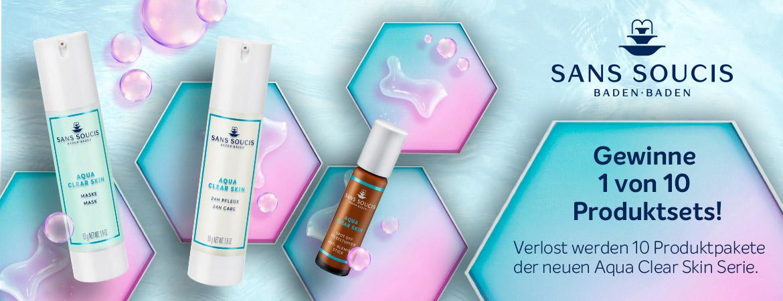 Sans Soucis Aqua Clear Skin Gewinnspiel