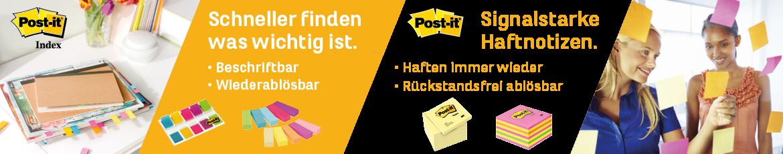 Post-it - Kleben und Notieren