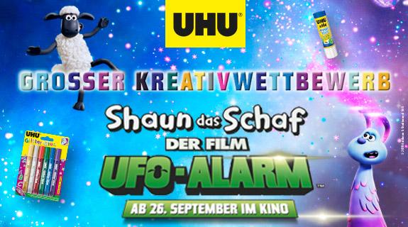 UHU Kreativwettbewerb Shaun das Schaf