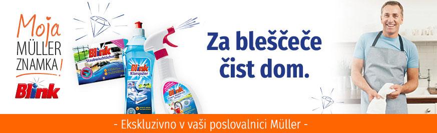 Blink Čistila in sredstva za pranje