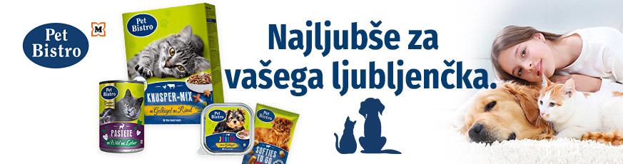 Pet Bistro Hrana za živali in dodatki