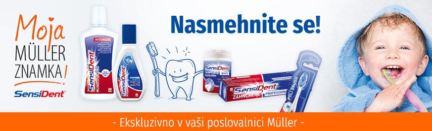 SensiDent Ustna in zobna nega