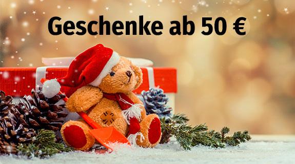 Geschenke Spielware über 50 Euro